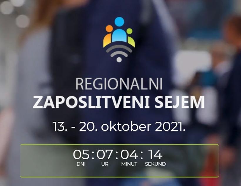 Še 5 dni do največjega regionalnega zaposlitvenega sejma!