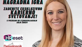 NAGRADNA IGRA: karierno svetovanje z Anjo Žibert iz HReset