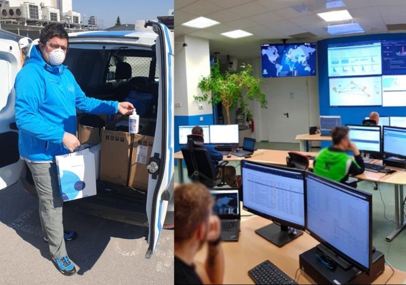 Intervju: Kakšne ukrepe je glede koronavirusa sprejelo podjetje Telekom Slovenije?
