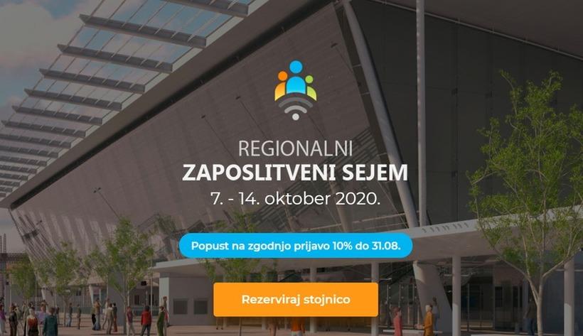 Podjetja – prijavite se na online REGIONALNI ZAPOSLITVENI SEJEM (7. – 14. oktober 2020)!