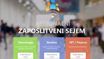 Začel se je Regionalni zaposlitveni sejem -  pravi čas za (boljšo) zaposlitev!