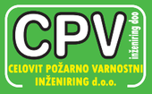 CPV INŽENIRING, celovit požarno varnostni inženiring, d.o.o.